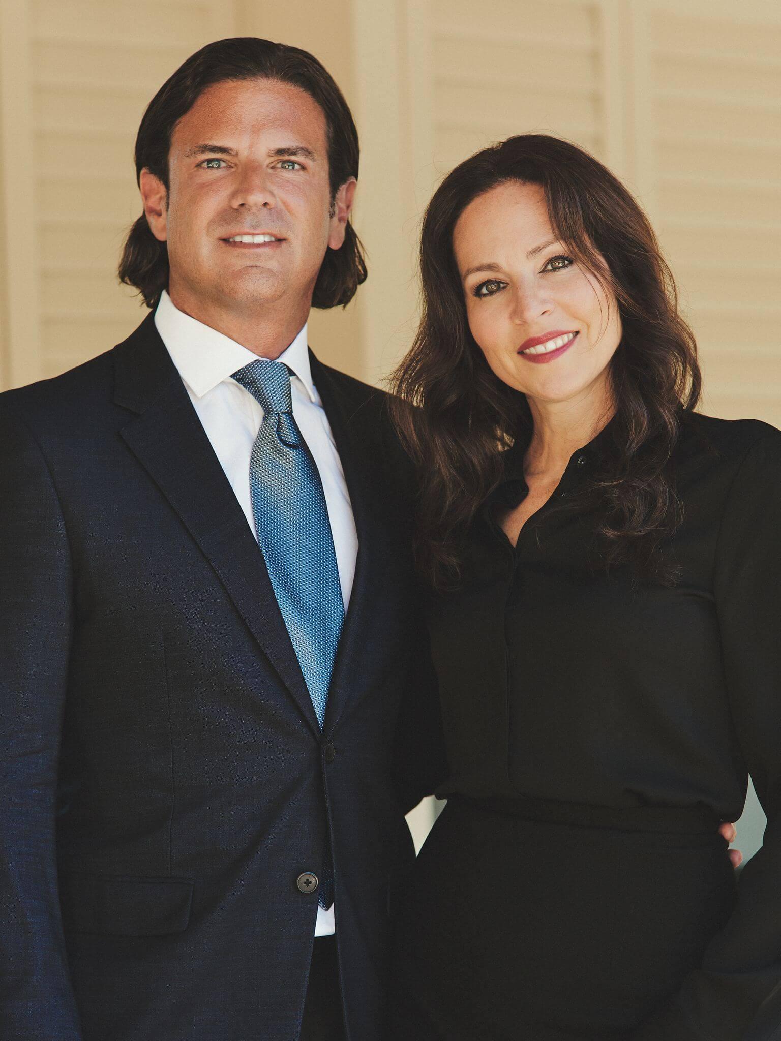 David adelman and wife